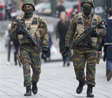 Explosion Heard in Brussels During Anti-Terror Raid