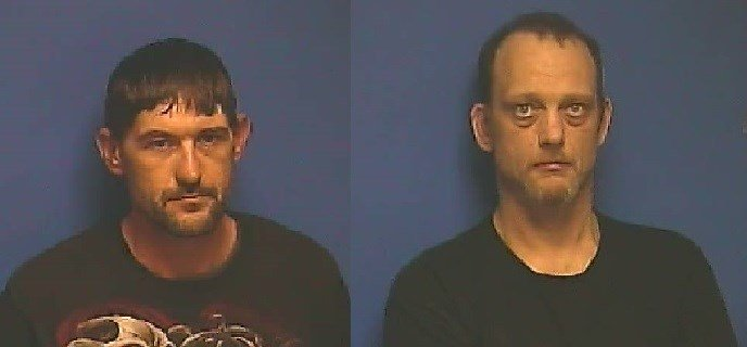 Steven L. Warfield (pictured left) and Edward W. Towery (pictured right) both face drug charges in McCracken County.