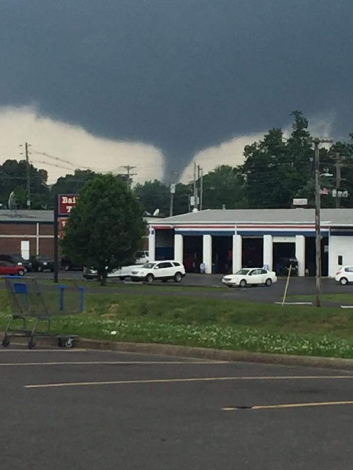 Photo from Lisa Morgan Neal, near Wal-Mart in Mayfield.