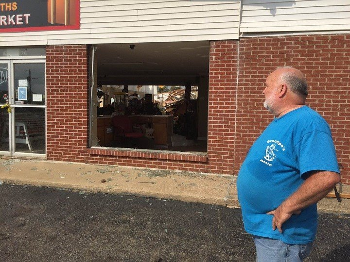 """""""It wasn't but a minute and it was gone,"""" Grandpa's Attic store manager Randy Fondaw said."""