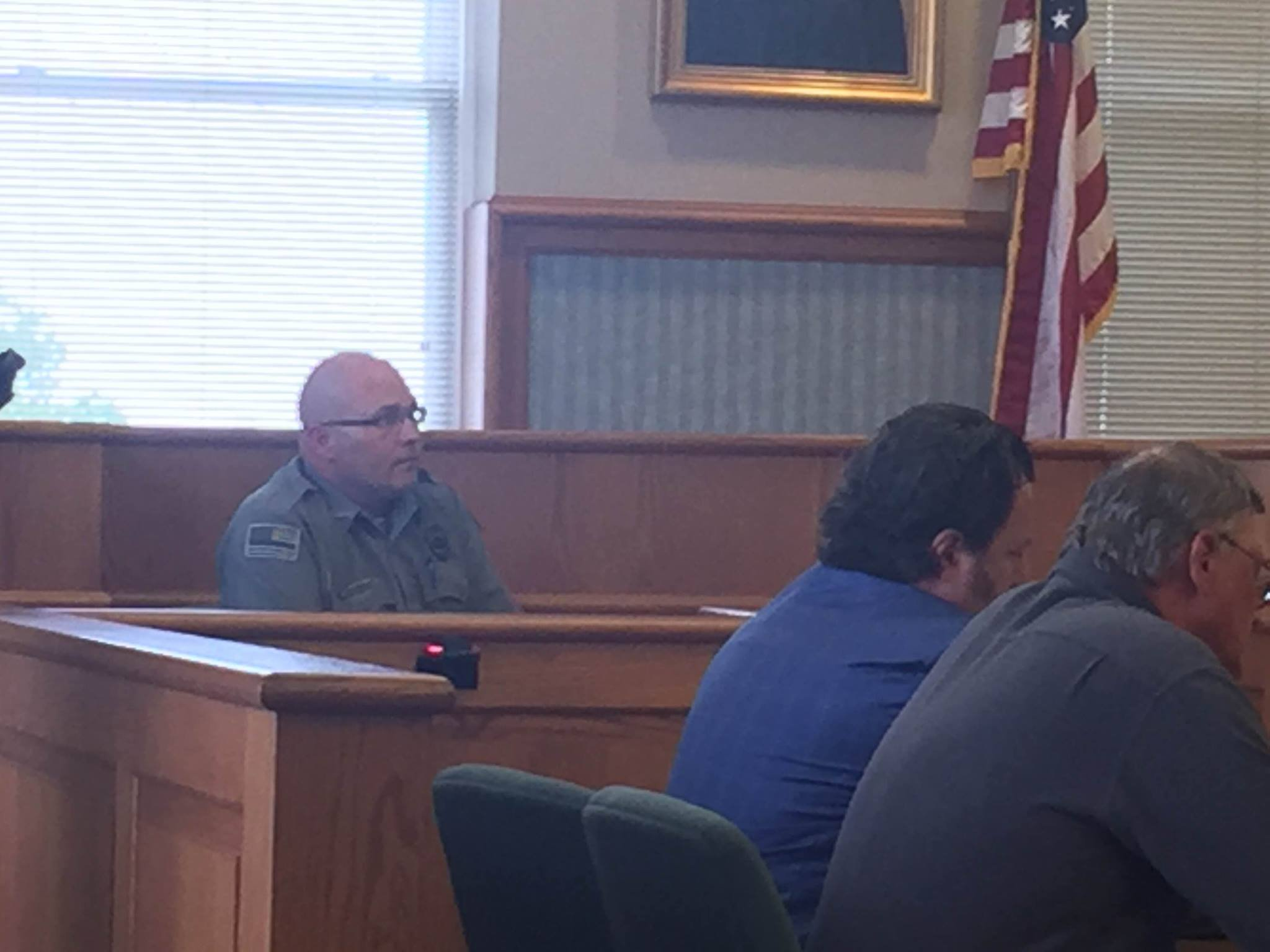 James Campbell with Ballard County Animal Control takes the stand in the Edward Ream trial May 17, 2016.