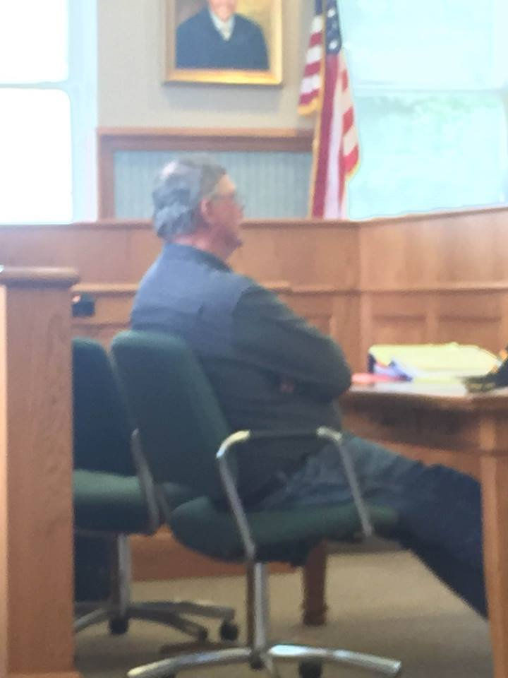 Edward Ream sits on trial in Ballard County Tuesday, May 17, 2016.