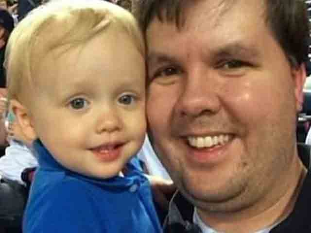 Justin Ross Harris with his son Cooper