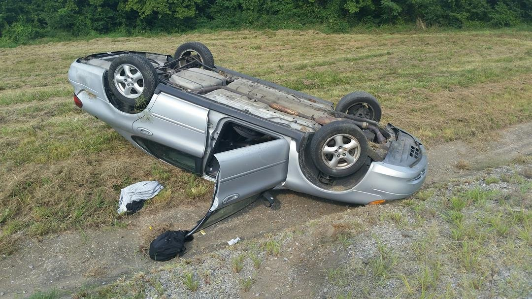 McCracken County sheriff's deputies found 19-year-old Julian Howard's car flipped over, near the Ledbetter Bridge.