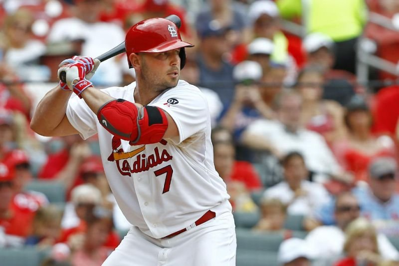 Cubs' 11-game win streak ends, Grichuk slam propels Cards