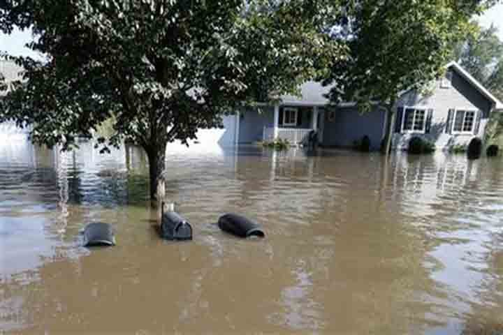 About half of flood zone residents evacuated