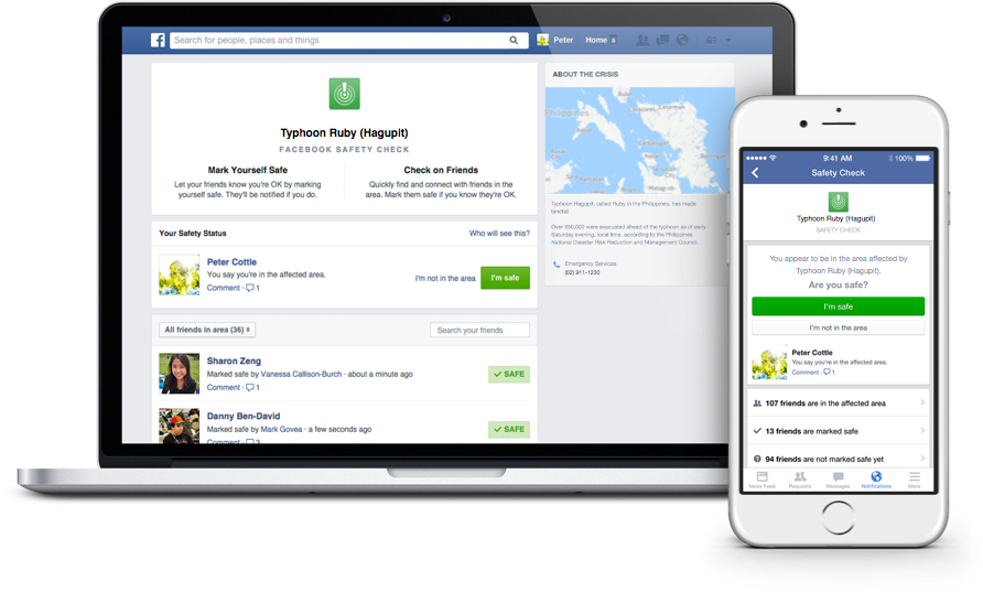How To Use The Facebook Safety Check-In For Hurricane Matthew