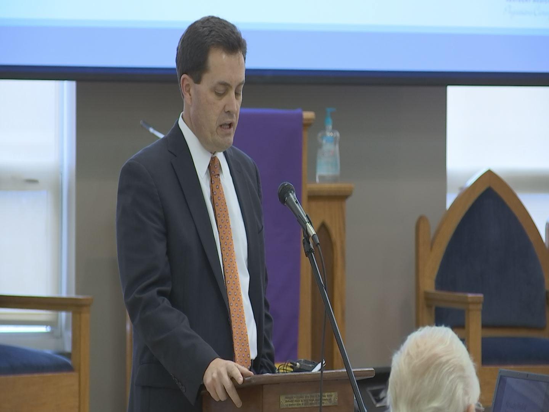 Patrick Padgett; CEO Kentucky Medical Association