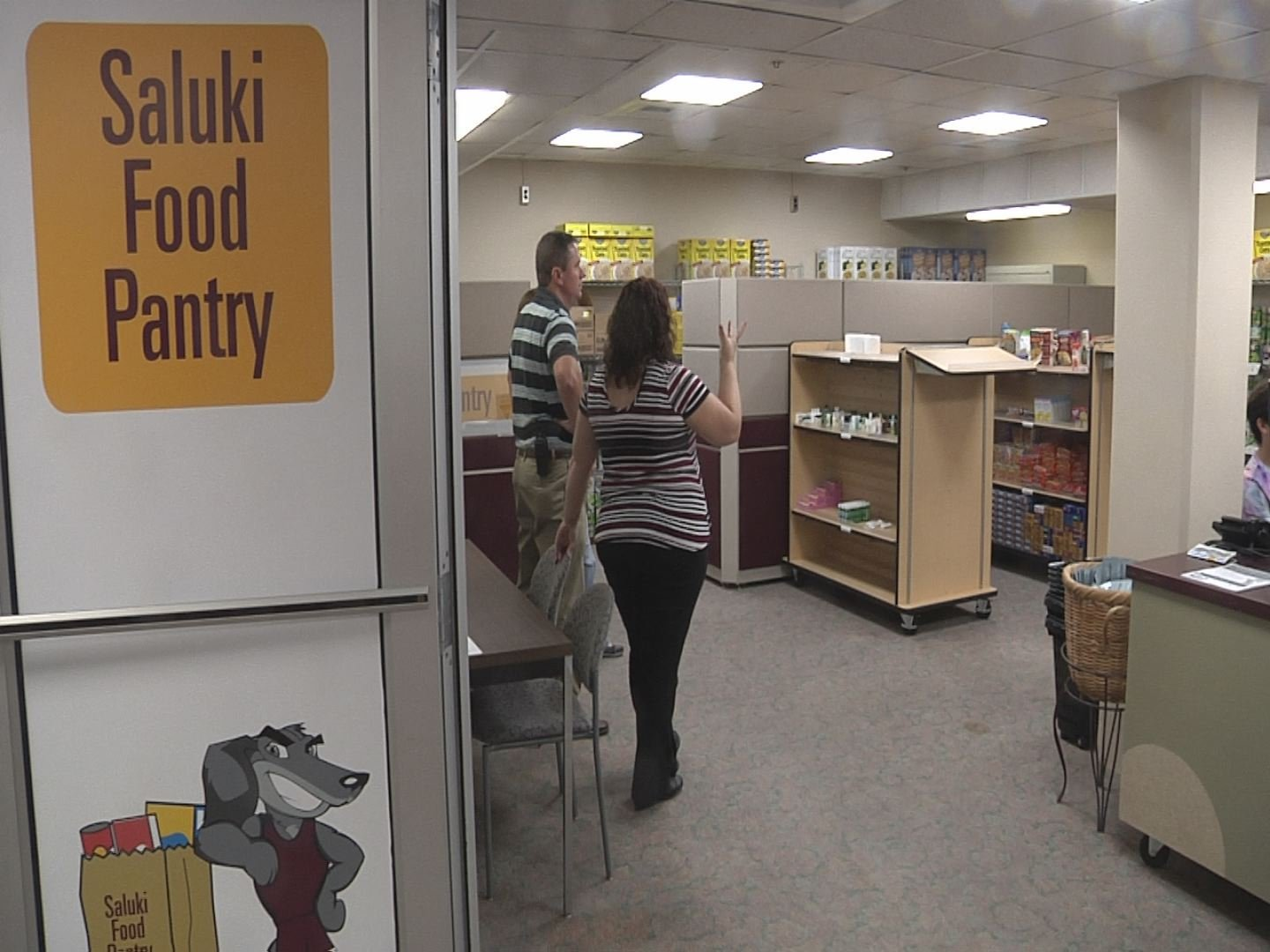 SIU's Saluki Food Pantry works to help feed students in need.