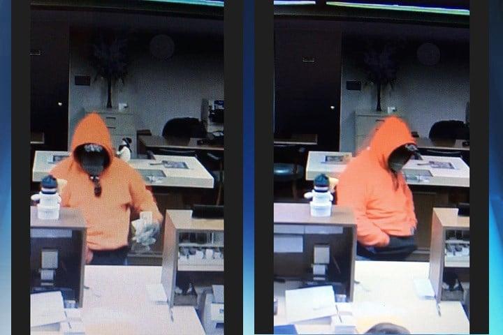 Surveillance photos from the Capaha Bank robbery