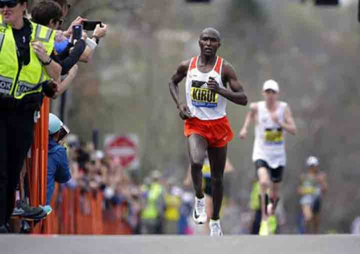 Kenyans sweep Boston Marathon on a good day for US runners