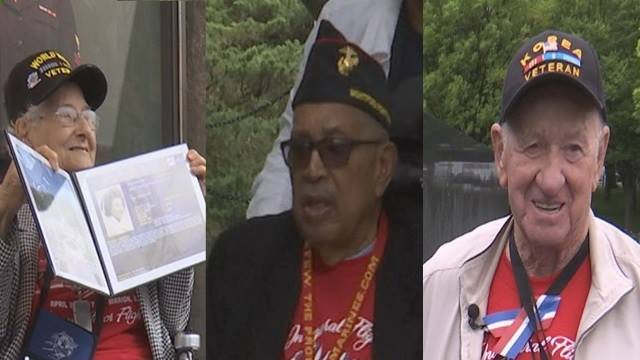 World War II veteran Josephine Renshaw, World War II veteran Archie Mosley and Korean War veteran Lester Emery tell us what being part of the first Honor Flight of Southern Illinois meant to them.