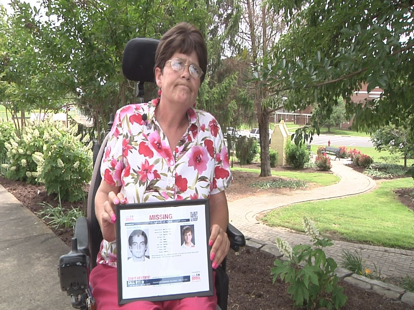 Barbara Erickson has been looking for her son for 10 years.