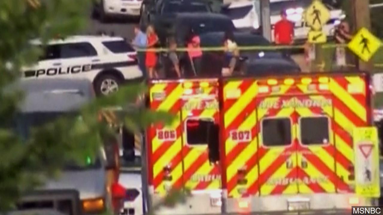 Alexandria YMCA Damaged In GOP Baseball Practice Shooting