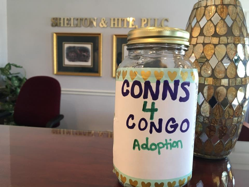 The Conn Family are trying to adopt a little girl from the Congo.