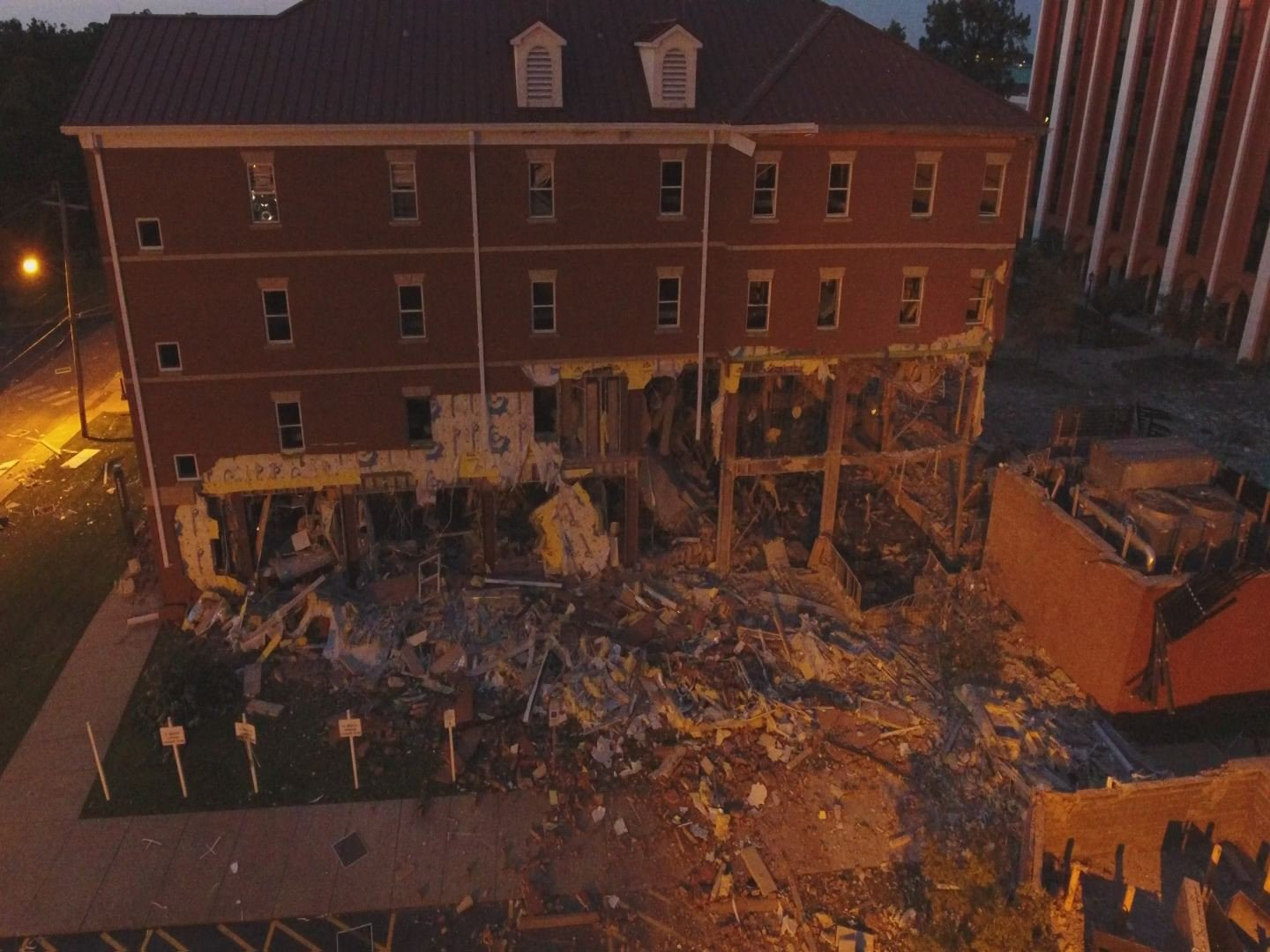 Explosion at Murray State University dorm felt on and off campus