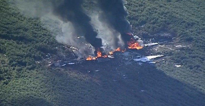 Marine Corps Aircraft Crashes, Killing 16