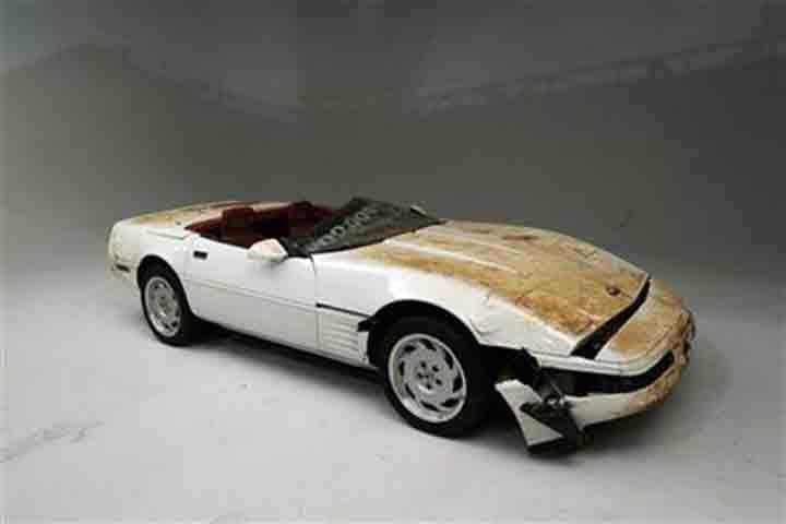 1 millionth Corvette