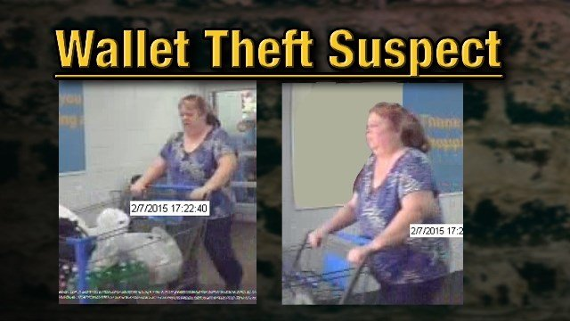 Paducah Police say the woman in these surveillance images from the southside Walmart is 49-year-old Rhonda Stevenson. She now faces a charge of theft.