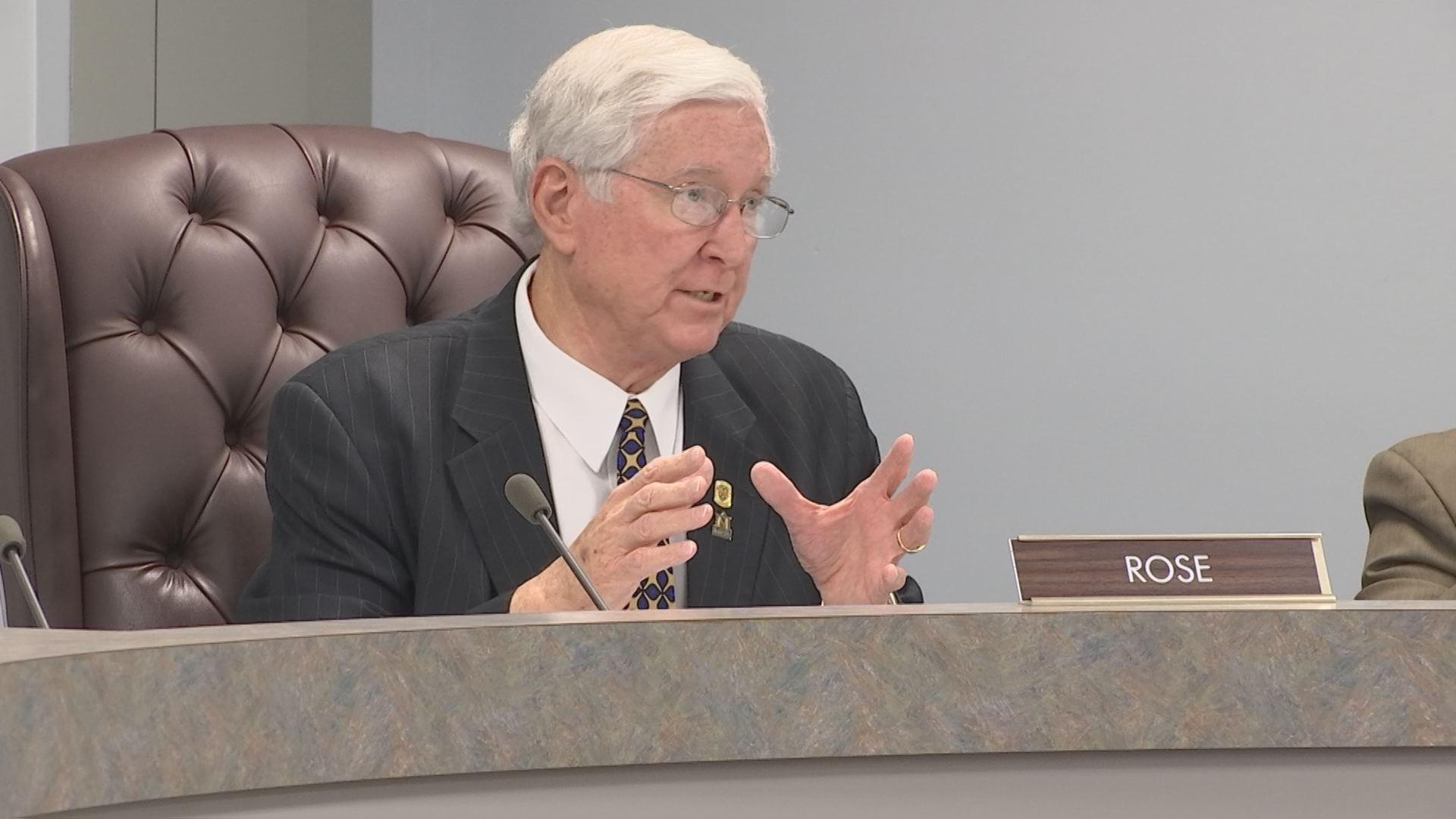 Murray Mayor Jack Rose