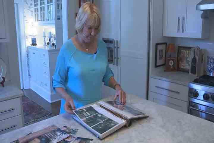 Jane Gamble says she's sensitive to her home's history.