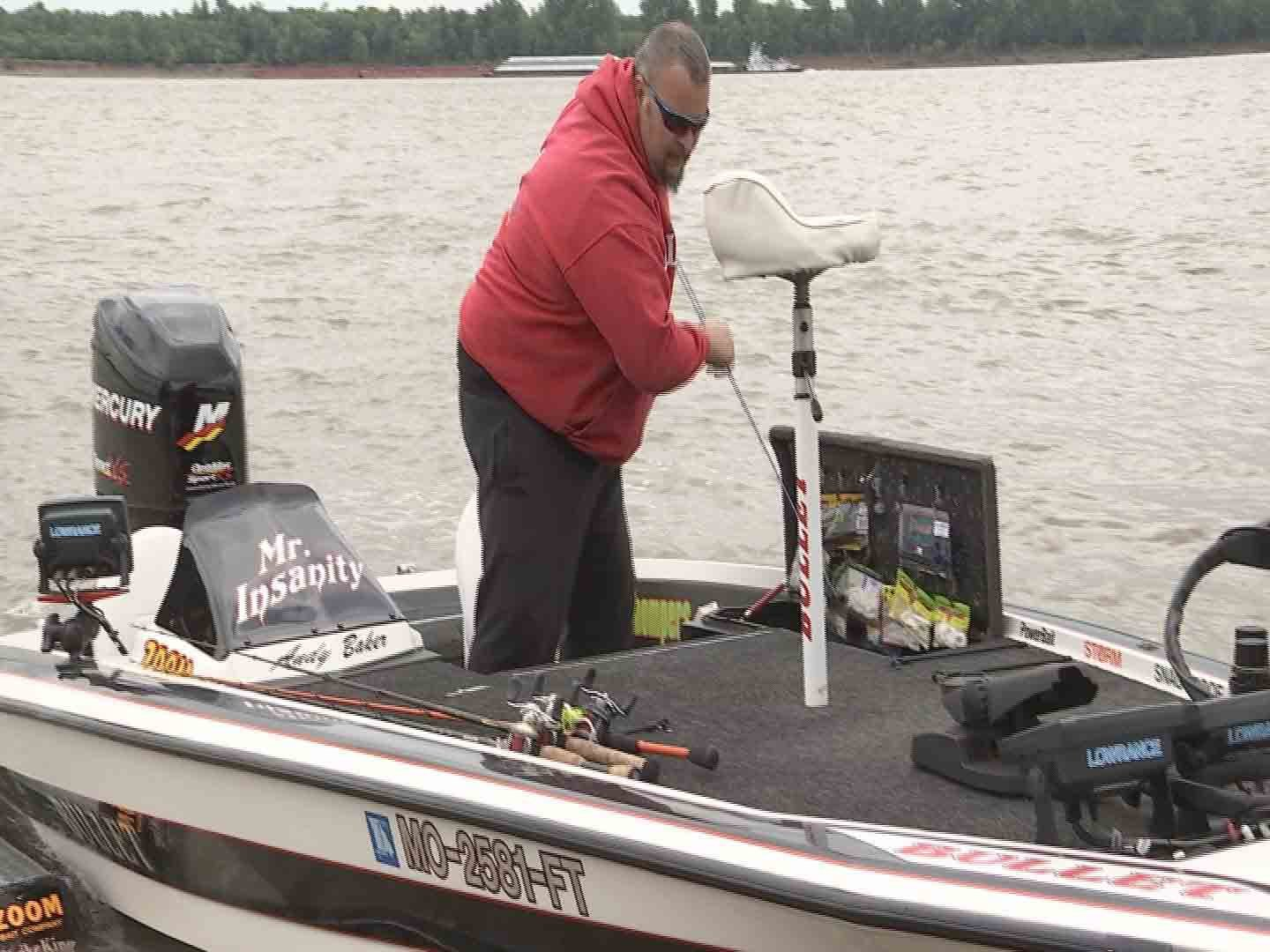 Andy Baker says awareness is key when out on his boat.