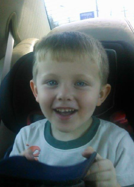 Brayden K. Gibson, 5 years old