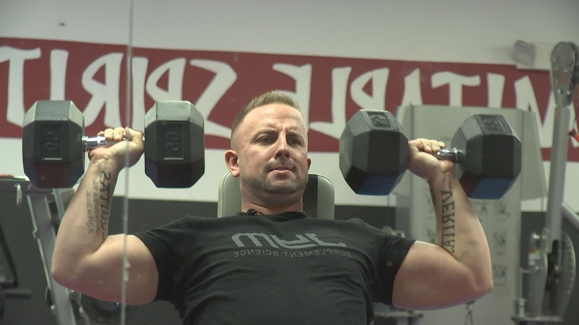 Dan Otterson will try to finish a grueling national fitness challenge in honor of his son.