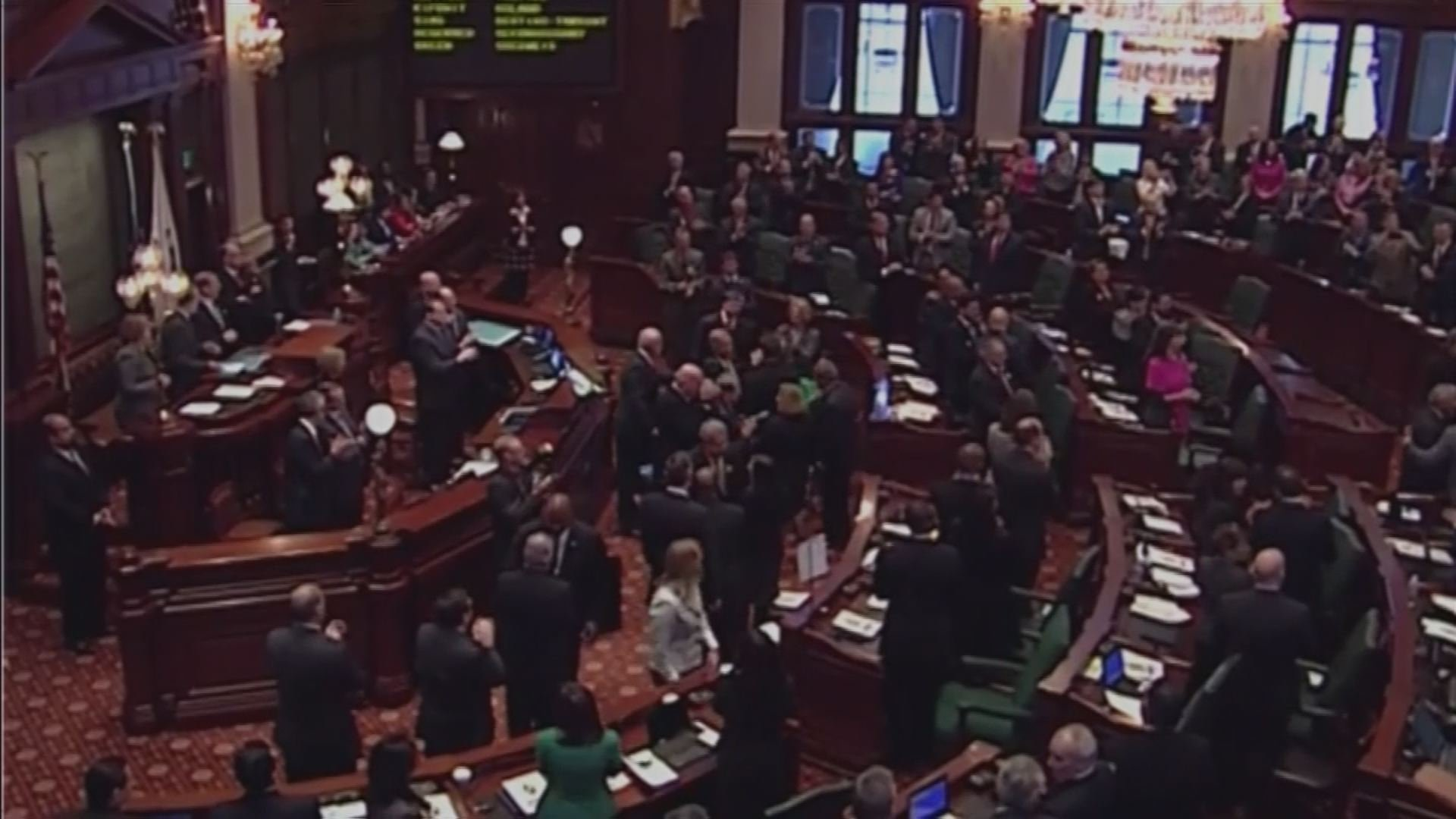 The clock is ticking for Illinois lawmakers to agree to a budget and avoid a partial government shutdown.