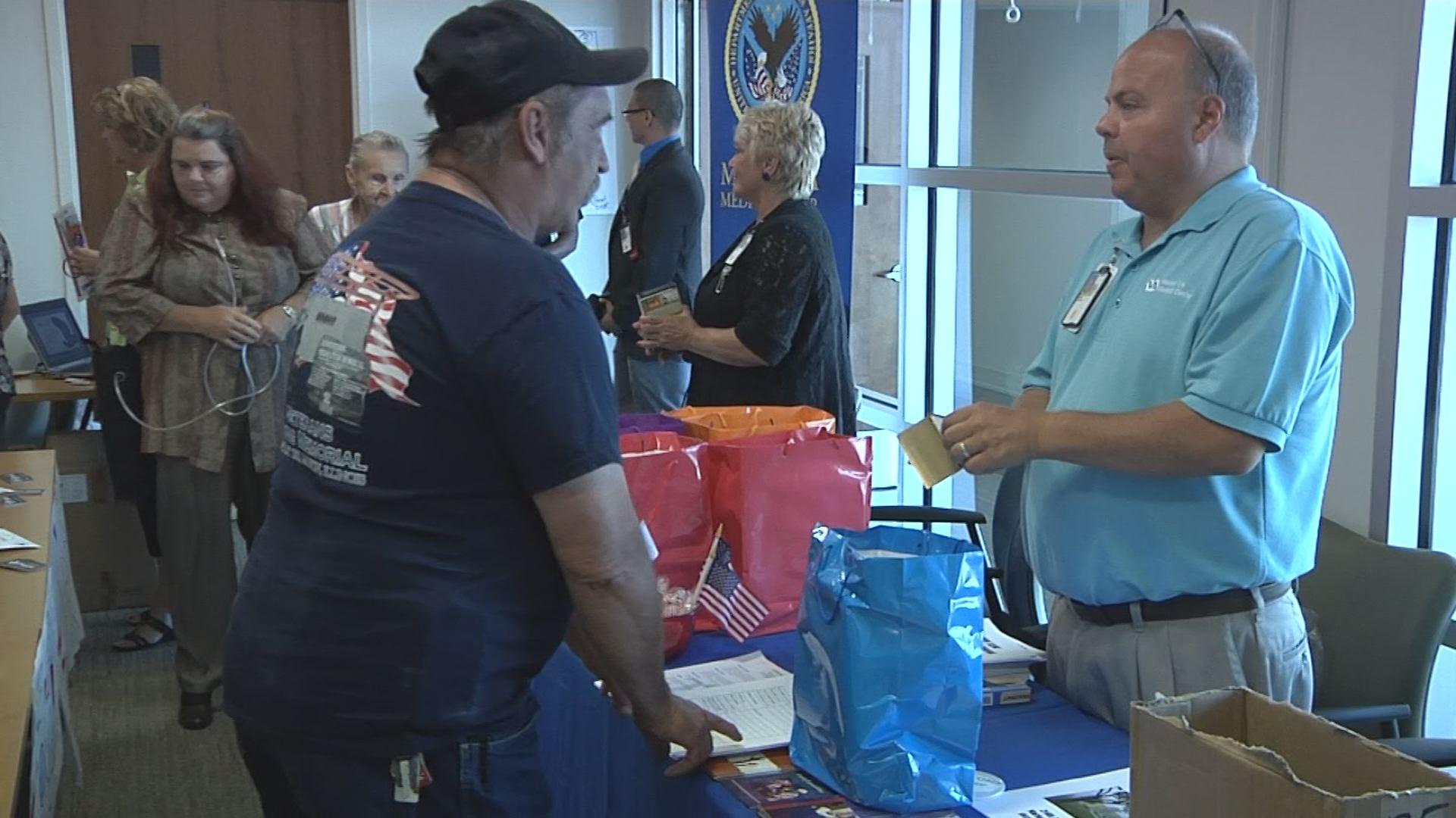 The Marion VA Behavioral Health Center opens to veterans.