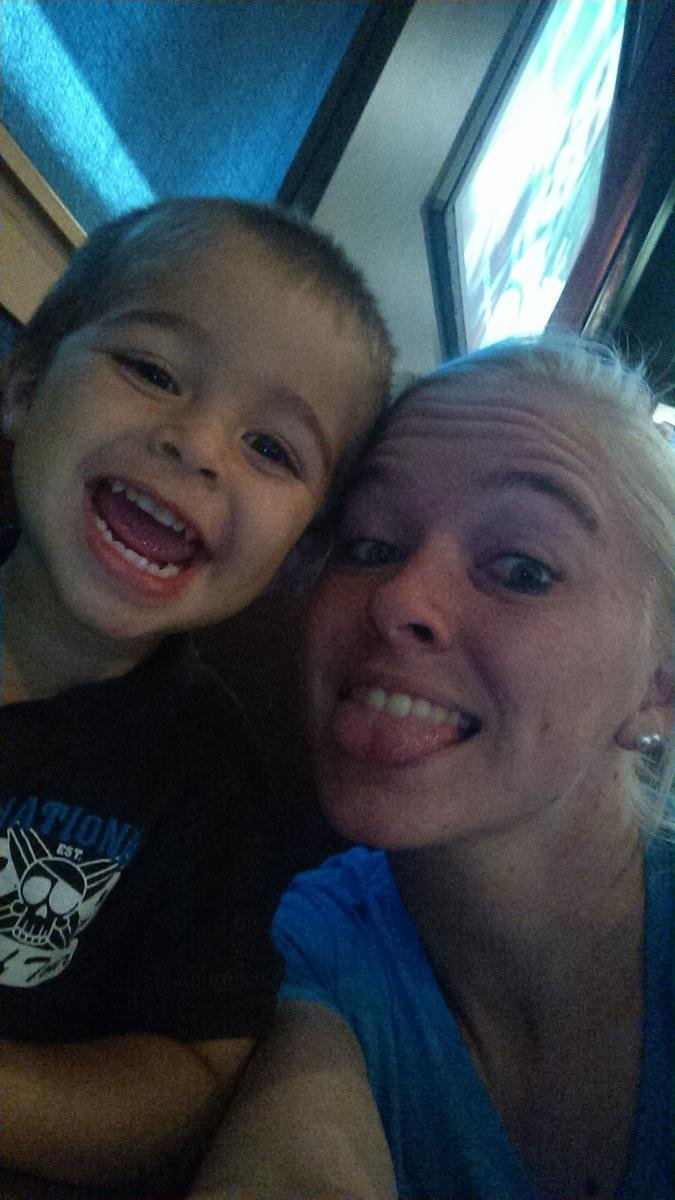 Xavier and his mom Amber McIntosh