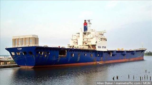 Sonar indicates wreckage believed to be El Faro landed upright o