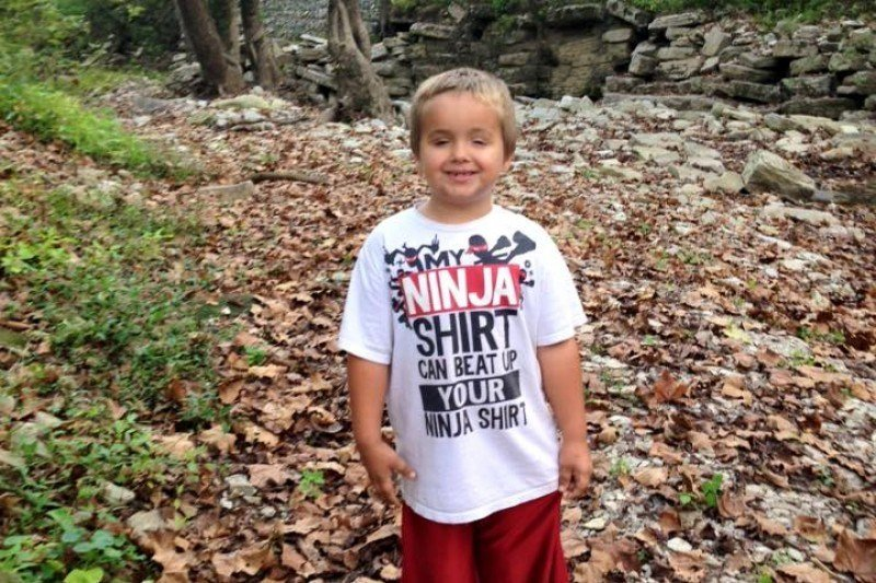 Six-year-old Logan Tipton was stabbed to death in his bedroom early Monday morning. (Photo credit: LEX18)