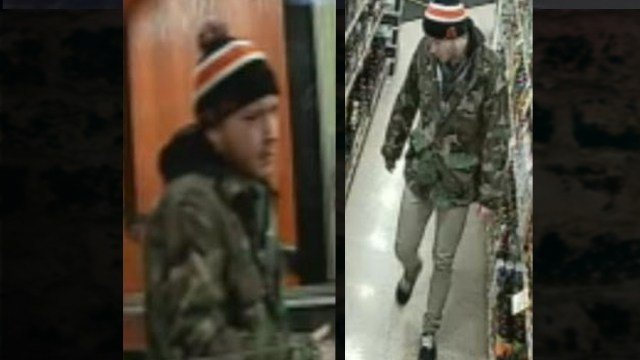 Carbondale Police are searching for this man. They say he stole multiple items from a business on December 7th.