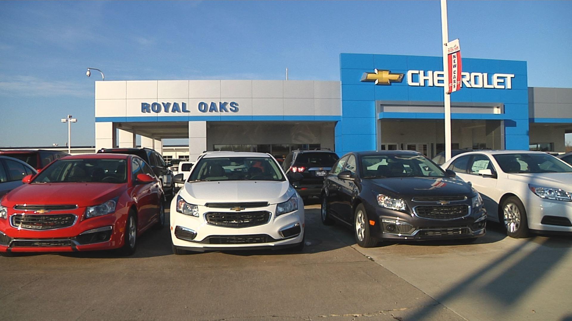 Jami works at Royal Oaks Chevrolet in Paducah, KY