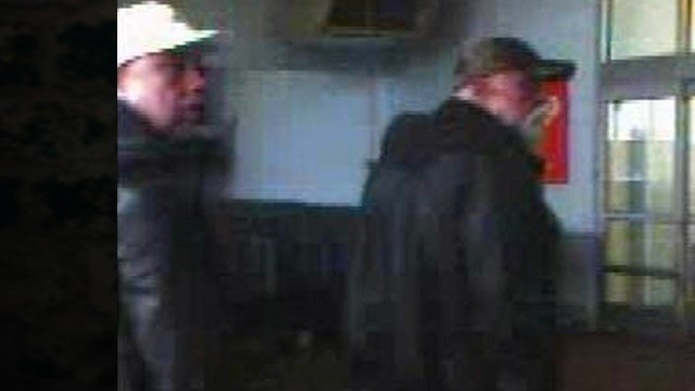 These two men are suspected of stealing merchandise from the Marion, IL Walmart on December 31, 2015, then loading it into a white SUV.