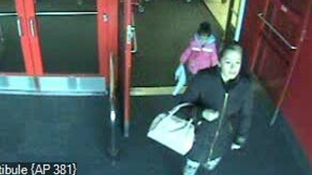 This woman is believed to have been a passenger in a car involved in a hit and run outside Illinois Star Centre Mall in Marion, IL on Januray 20, 2016.