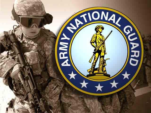 National Guard Tattoos a Kentucky National Guard